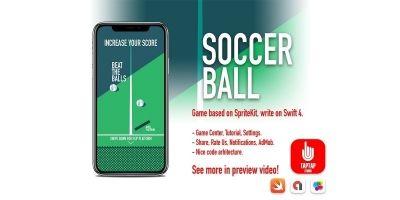Soccer Ball iOS Source Code