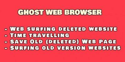 Ghost Web Browser .NET