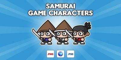 Samurai Chibi Characters