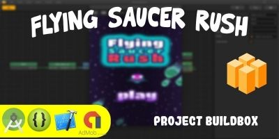 Flying Saucer Rush Buildbox Project  BBDOC