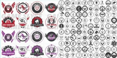Achievement Seals 114 Icons Pack
