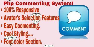 Advance Comment System PHP Script