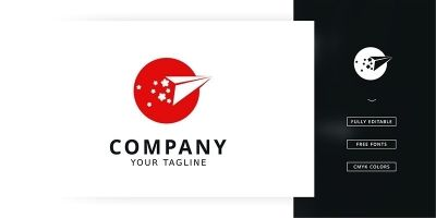 Japan Travel Logo Template