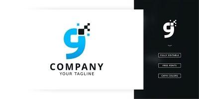 Tech Nine Logo Template