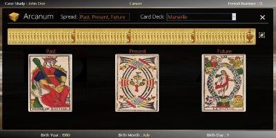 Classborn Tarot Card Game