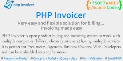 PHP Invoicer - Simple Invoicing Tool