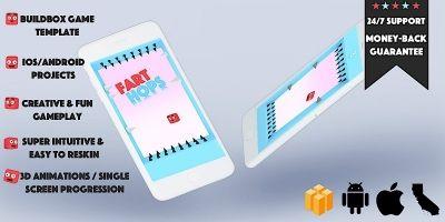 Fart Hop Buildbox Template