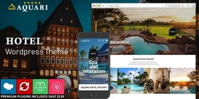 Aquari - Hotel Wordpress Theme