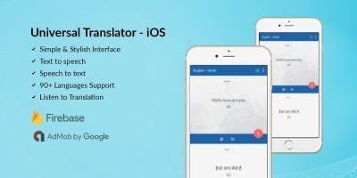 Universal Translator - iOS Source Code
