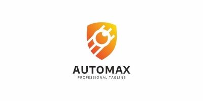Automax Satellite Logo Template