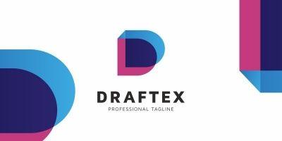 Draftex D Letter Logo