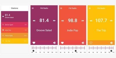 Fascinating Radio App Ionic