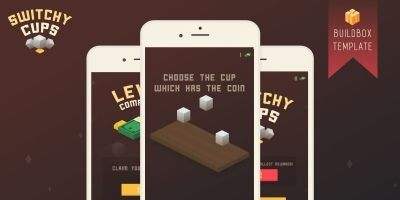 Switchy Cups - Buildbox Template