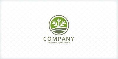 Lawn - Landscaping Logo