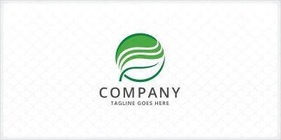 Layered Leaf Logo