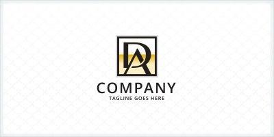 Letters DA  AD Logo
