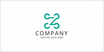 Connecting Dots - Letter Z Logo