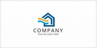 Home HVAC System Logo