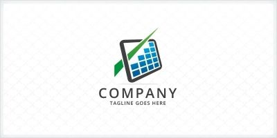 Bar Charts - Financial Logo