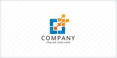 Digital Data - Technology Logo