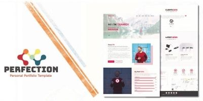 Perfection - Personal Portfolio Template