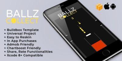 Ballz Collect - Buildbox Template