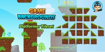 Game BG Plat former Tile-sets 02