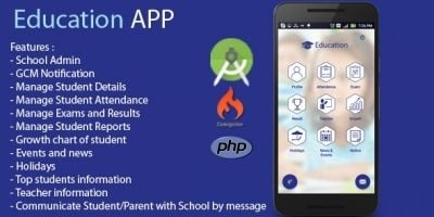 Education App -  Android And iOS Source Code