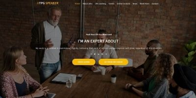 TPG Speaker - Conference WordPress Theme