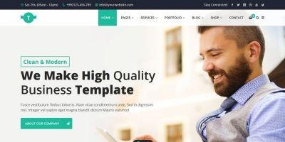 Trendbiz - Multipurpose Business HTML5 Template