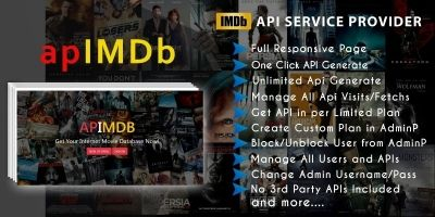 apIMDb - Internet Movie Database API