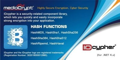 IDcypher Hash Functions .NET