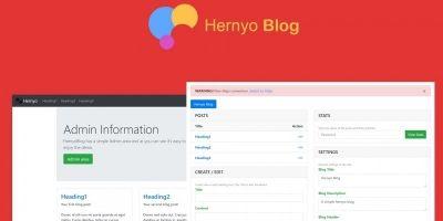 Hernyo Blog PHP Script