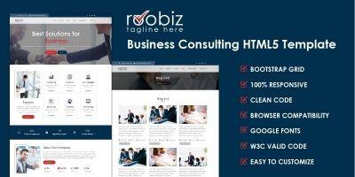 Robin HTML Template