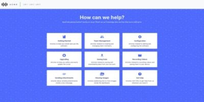 KnowledgeMark - HTML Knowledge Base Template