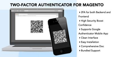 Two-Factor Authenticator Extension for Magento