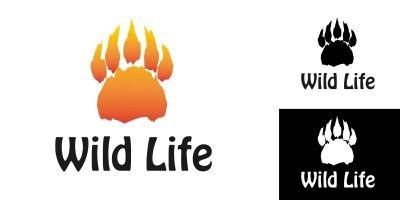 Logo Template Wild Life