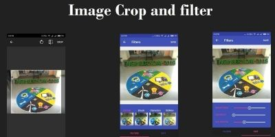 Android - Crop And Image Filter