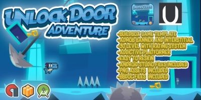 Unlock Doors Adventure - Buildbox Template