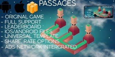Passages - Buildbox Template