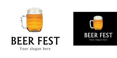 Logo Template Beer fest