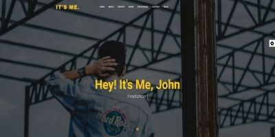 Its Me - Personal Portfolio Template