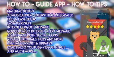 How To Guide App - Android Source Code