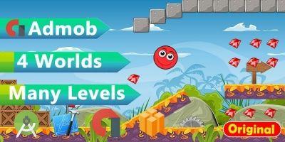 Super RedBall Buildbox Template Full Project