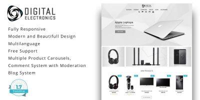 Digital Electronics Store - PrestaShop Theme