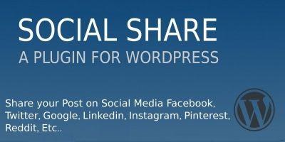 Social Share Plugin For Wordpress