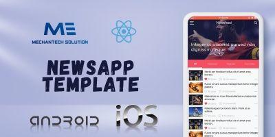 NewsApp Template - React native