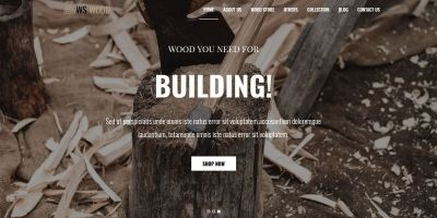 WS Wood - WordPress Theme