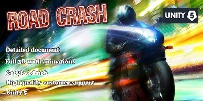 Road Crash - Full Unity Project