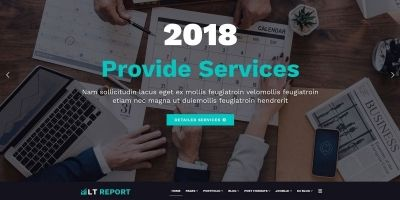 LT Report - Joomla Template